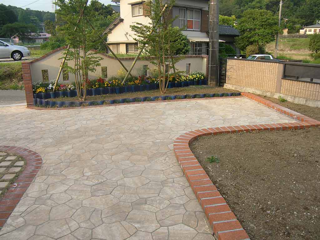 個人住宅の庭